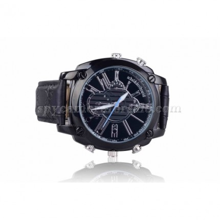HD hidden Spy Watch Camera - 1080P HD Camera IR Night Vision Wristwatch Camera with 16GB Memory