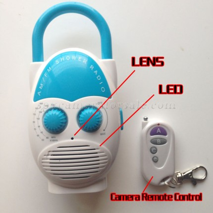 Buy hidden cameras for sale for Shower 16G Full HD 720P DVR with motion sensor at Shower Spy Camera shop with wholesale price