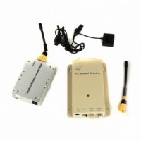hidden Spy Button Cam DVR - High Power 3000mw 1.2GHz Wireless Button Camera and Receiver Set