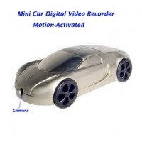 mini Car Camera recorder - Motion Activated Mini Car Model Digital Video Recorder Hidden Pinhole Color Camera