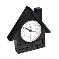 Wirless Clock Camera DVR with A/V receiver - 2.4GHZ Hidden Clock Wireless Camera Kit with Audio Hidden Camera
