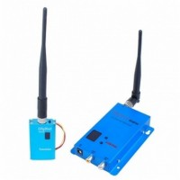 Wireless hidden Spy Cam - 1.5G Wireless 12-CH 1500mW Double Room To Room Audio/Video Sender