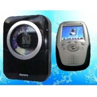 Wireless Shower CD/ Radio Camera - Hidden Wireless Bathroom Spy Camera