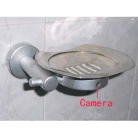 Soap Box Hidden Bathroom Spy Cams DVR - HD Bathroom Spy Camera Stainless steel Soap Box Camera DVR 16GB 1280x720 5.0 Mega Pixel