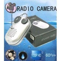 HD Bathroom Spy Camera 60 Frames (Random Shaking Stable Recording) Digital Hidden Radio Camera 32GB
