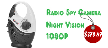 Radio Spy Cameras For Bathroom